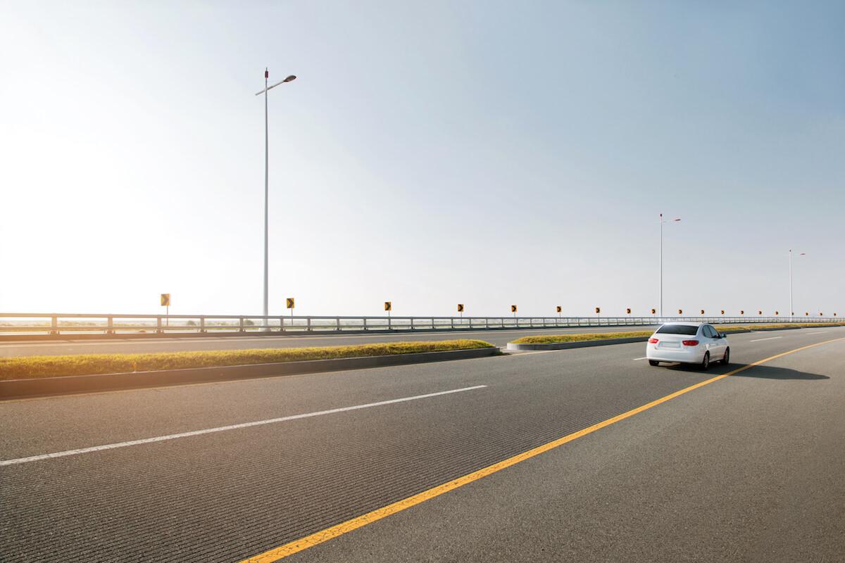 RUCwest modern road